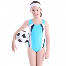 dot green lovely girl swimwear