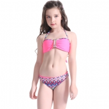 two-pieces teenager girl swimwear for little girl  (25 designs)