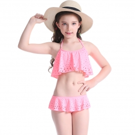 watermelon color girl bikini swimsuit swimwear