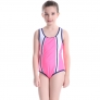 beach floral sunscreen quick drying teen girl swimwear