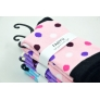 colorful dot wool blends women socks