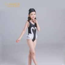 cute swan fashion Russia girl bikini swimwear