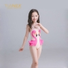 Pinkcute swan fashion Russia girl bikini swimwear