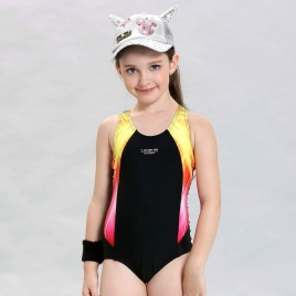 fashion cute one-piece  girl swim student bikini swimwear