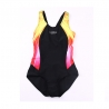 black yellowfashion cute one-piece  girl swim student bikini swimwear