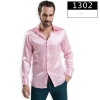 color 2fashion casual Imitation silk men shirt