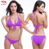 color 5simple candy color women bikini swimwear