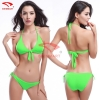 color 6simple candy color women bikini swimwear