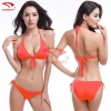 color 11simple candy color women bikini swimwear