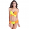 orange-yellowEurope candy sexy halter women swimsuit