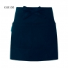 navy apronsolid color short design apron for chef waiter