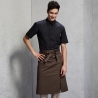 split coffee apronGermany fashion restaurant coffee shop staff apron