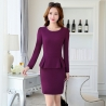 purplefall charming design women office business dress