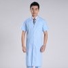 light blue coatsummer thin high quality hospital uniform doctor coat