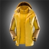 men yellowfashion 3-in-1 Winter Jacket outdoor jacket