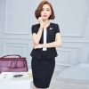 Blacknice office style work wear skirt suits uniform for women