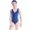 color 2colorful halter one-piece girl bikini swimwear