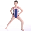 color 4colorful halter one-piece girl bikini swimwear