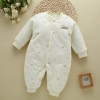 color 3high quality cotton thicken newborn clothes infant rompers