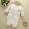 color 4high quality cotton thicken newborn clothes infant rompers