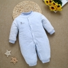 color 6high quality cotton thicken newborn clothes infant rompers