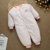 color 9high quality cotton thicken newborn clothes infant rompers