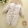 color 12high quality cotton thicken newborn clothes infant rompers