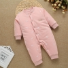 color 14high quality cotton thicken newborn clothes infant rompers