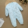 color 15high quality cotton thicken newborn clothes infant rompers