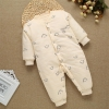 color 16high quality cotton thicken newborn clothes infant rompers