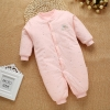 color 19high quality cotton thicken newborn clothes infant rompers