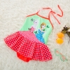 color 2carton girl printing little girl teen swimwear