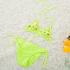 color 6candy flower printing little girl bikini teen  swimwear swimsuit