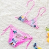 color 5Europe cheap little girl bikini teen swimwear bikini