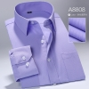 color 19high quality business men formal office work shirt