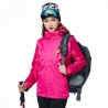 women rosefashion candy color Interchange Jacket outdoor coat