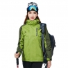 women greenfashion candy color Interchange Jacket outdoor coat