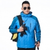 men bluefashion candy color Interchange Jacket outdoor coat