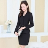 color 2long sleeve fashion spring women business suits  (skirt + coat)