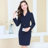 color 3long sleeve fashion spring women business suits  (skirt + coat)