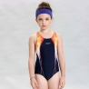 children navyhigh quality one-piece bikini swimwear for girl
