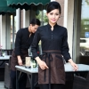 women coffeecasual Korea design  autumn bar waiter uniform