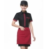 women short sleeve blackClassic Korea fashion high quality hotel workplace men women shirt uniform