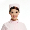 pink2015 fashion high quality nurse hat cap,multi designs