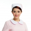 pink + white2015 fashion high quality nurse hat cap,multi designs