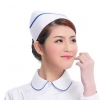 white ( one bar)2015 fashion high quality nurse hat cap,multi designs
