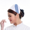 white ( three slash )2015 fashion high quality nurse hat cap,multi designs