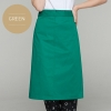greenclassic half length high quality chef aprons