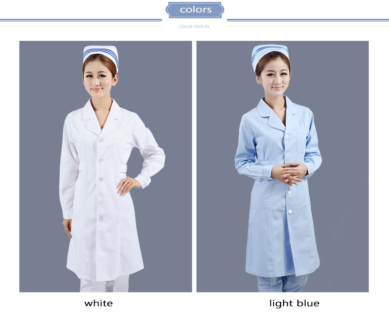 young female nurse coat